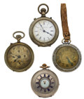 Timepieces:Pocket (post 1900), Rare New York Chronograph Watch Co. & 3 Other Watches For PartsOr Repair. ... (Total: 4 Items)