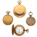 Timepieces:Other , Lot Of Four Miscellaneous Items. ... (Total: 4 Items)