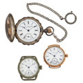 Timepieces:Pocket (post 1900), A Lot Of Three Pocket Watches. ... (Total: 3 Items)