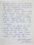 Autographs:Celebrities, Mother Teresa Autograph Letter Signed....