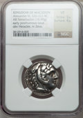Ancients:Greek, Ancients: MACEDONIAN KINGDOM. Alexander III the Great (336-323 BC).AR tetradrachm (16.70 gm). ...