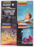 Pulps:Science Fiction, Fantasy and Science Fiction Box Lot (Fantasy House, Inc., 1949-68)Condition: Average VG/FN....