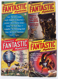 Famous Fantastic Mysteries Box Lot (Frank A. Munsey Co., 1939-53) Condition: Average FR/GD