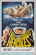 """Movie Posters:Comedy, The Three Stooges Meet Hercules (Columbia, 1962). One Sheet (27"""" X 41""""). Comedy.. ..."""
