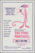 "Movie Posters:Animation, Dial 'P' for Pink (United Artists, 1965). One Sheet (27"" X 41"").Animation.. ..."