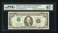 Error Notes:Inverted Third Printings, Fr. 2168-A $100 1977 Federal Reserve Note. PMG Superb Gem Unc 67EPQ.. ...