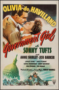 """Movie Posters:Comedy, Government Girl (RKO, 1943). One Sheet (27"""" X 41""""). Comedy.. ..."""