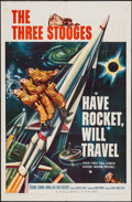 "Movie Posters:Comedy, Have Rocket, Will Travel (Columbia, 1959). One Sheet (27"" X 41"").Comedy.. ..."