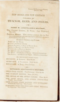Books:Literature Pre-1900, Nathaniel Hawthorne. The Snow-Image, and Other Twice-Told Tales. Boston: Ticknor, Reed, and Fields, 1852 [i.e. 1...