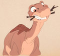 Animation Art:Production Cel, The Land Before Time Littlefoot Production Cel (SullivanBluth/Amblin, 1988)....