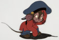 Animation Art:Production Cel, An American Tale Fievel Production Cel Setup (DonBluth/Amblin, 1986)....