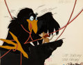 Animation Art:Color Model, The Secret of NIMH Mrs. Brisby and Jeremy the Crow Color Model Cel Setup (United Artists, 1982)....