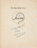 Autographs:Others, 1948 The Babe Ruth Story Signed by Babe Ruth....