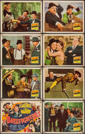 "Movie Posters:Comedy, The Bullfighters (20th Century Fox, 1945). Lobby Card Set of 8 (11""X 14""). Comedy.. ... (Total: 8 Items)"