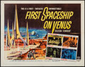 "Movie Posters:Science Fiction, First Spaceship on Venus (Crown International, 1962). Half Sheet(22"" X 28""). Science Fiction.. ..."