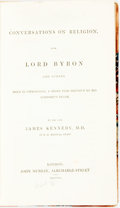 Books:Religion & Theology, James Kennedy. Conversations on Religion, with Lord Byron and Others, Held in Cephalonia, a Short Time Previous to his L...