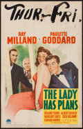 """Movie Posters:Comedy, The Lady has Plans (Paramount, 1942). Window Card (14"""" X 22""""). Comedy.. ..."""