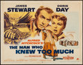 """Movie Posters:Hitchcock, The Man Who Knew Too Much (Paramount, 1956). Half Sheet (22"""" X28""""). Hitchcock.. ..."""