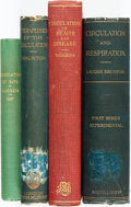 Books:Medicine, [Medicine]. [Circulation]. Group of Four Books on Circulation. Various publishers and dates. ... (Total: 4 Items)