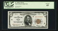 Small Size:Federal Reserve Bank Notes, Fr. 1850-K $5 1929 Federal Reserve Bank Note. PCGS Gem New 65.. ...