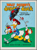 "Movie Posters:Animation, Donald's Golf Game (Circle Fine Art, R-1980s). Fine Art Serigraph (22.5"" X 30.5""). Animation.. ..."
