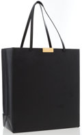 "Luxury Accessories:Accessories, Stella McCartney Black Vegan Leather Tote Bag . GoodCondition. Dimensions: 12.5"" Width x 14"" Height x 5.5""Depth, 8"" ..."