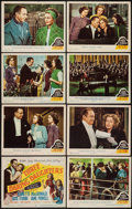 "Movie Posters:Musical, Three Daring Daughters (MGM, 1948). Lobby Card Set of 8 (11"" X 14""). Musical.. ... (Total: 8 Items)"