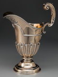 Silver Holloware, British:Holloware, A GOLDSMITHS & SILVERSMITHS CO. SILVER AND SILVER GILT EWER,London, England, circa 1899-1900. Marks: (lion passant), (leopa...(Total: 2 Items)
