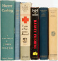 Books:Medicine, [Medicine]. [Harvey Cushing]. INSCRIBED. Group of Six Books by orAbout Harvey Cushing. Various Publishers and dates. ... (Total: 6Items)