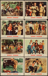 """Kissin' Cousins (MGM, 1964). Lobby Card Set of 8 (11"""" X 14""""). Elvis Presley. ... (Total: 8 Items)"""