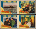 "Movie Posters:War, The Invaders (Columbia, 1941). Lobby Cards (4) (11"" X 14""). War..... (Total: 4 Items)"