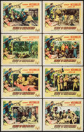 "Movie Posters:Adventure, Valley of Head Hunters (Columbia, 1953). Lobby Card Set of 8 (11"" X14""). Adventure.. ... (Total: 8 Items)"