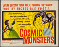 """Movie Posters:Science Fiction, Cosmic Monsters (DCA, 1958). Half Sheet (22"""" X 28""""). ScienceFiction.. ..."""