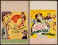 "Movie Posters:Comedy, Getting Gertie's Garter & Other Lot (United Artists, 1945). Window Cards (2) (14"" X 22""). Comedy.. ... (Total: 2 Items)"