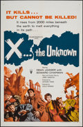"""Movie Posters:Science Fiction, X: the Unknown (RKO, 1957). One Sheet (27"""" X 41""""). ScienceFiction.. ..."""