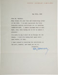 Autographs:Authors, Ray Bradbury Typed Letter Signed....