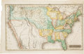 Miscellaneous:Maps, Alfred Daggett Color Map of the United States....