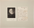 Autographs:Authors, Henry Wadsworth Longfellow Autograph Letter Signed....