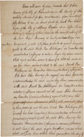 Autographs:Military Figures, [Slavery]. Bill of Sale for a Negro Boy, 1813.... (Total: 2 Items)