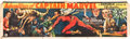 "Movie Posters:Serial, Adventures of Captain Marvel (Republic, 1941). Cloth Banner (35"" X117"").. ..."