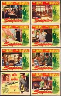 "Suspicion (RKO, 1941). Lobby Card Set of 8 (11"" X 14""). ... (Total: 8 Items)"