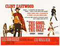 "Movie Posters:Western, The Good, the Bad and the Ugly (United Artists, 1968). British Quad (30"" X 40"").. ..."