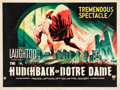 "Movie Posters:Horror, The Hunchback of Notre Dame (RKO, 1939). British Quad (30"" X 40"")....."