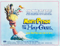 "Movie Posters:Comedy, Monty Python and the Holy Grail (EMI, 1975). British Quad (30.25"" X39.75""). Comedy.. ..."