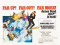 "Movie Posters:James Bond, On Her Majesty's Secret Service (United Artists, 1970). British Quad (30"" X 40"").. ..."