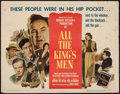 "Movie Posters:Academy Award Winners, All the King's Men (Columbia, 1949). Half Sheet (22"" X 28""). Academy Award Winners.. ..."