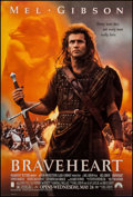 """Movie Posters:Action, Braveheart (Paramount, 1995). One Sheet (27"""" X 40""""), DS Advance.Action.. ..."""