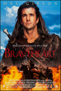 "Movie Posters:Action, Braveheart (20th Century Fox, 1995). International One Sheet (27"" X41""), Style B. Action.. ..."