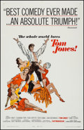 "Movie Posters:Academy Award Winners, Tom Jones (United Artists, 1963). One Sheet (27"" X 41""). AcademyAward Winners.. ..."