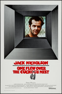 """One Flew Over the Cuckoo's Nest (United Artists, 1975). International One Sheet (27"""" X 41""""). Academy Award Win..."""